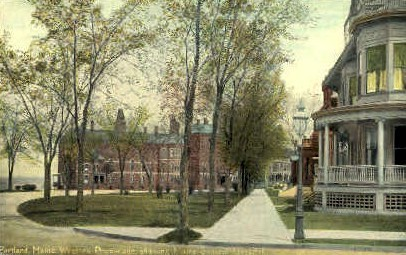 Maine General Hospital - Portland Postcard