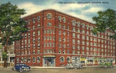The Lafayette - Portland, Maine ME Postcard