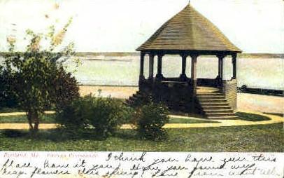 Eastern Promenade - Portland, Maine ME Postcard