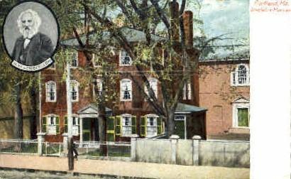 Longfellow Mansion - Portland, Maine ME Postcard