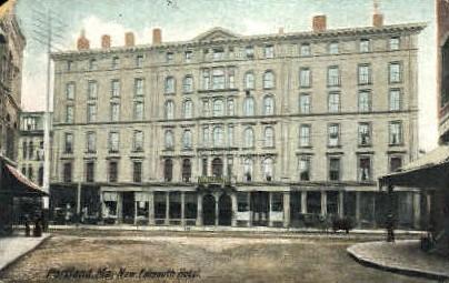 New Falmouth Hotel - Portland, Maine ME Postcard