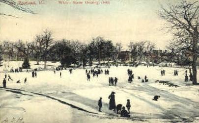 Winter, Deering Oaks - Portland, Maine ME Postcard