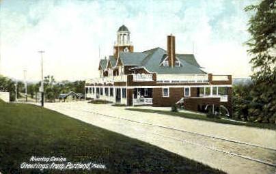 Riverton Casino - Portland, Maine ME Postcard