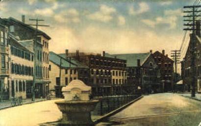 Mariner's Church & Peterson's Brass Shop - Portland, Maine ME Postcard