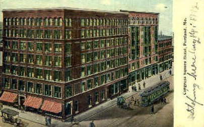 Congress Square Hotel - Portland, Maine ME Postcard