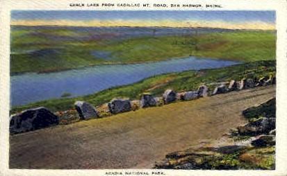Eagle Lake - Acadia National Park, Maine ME Postcard