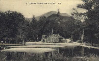 . - Mt. Katahdin, Maine ME Postcard
