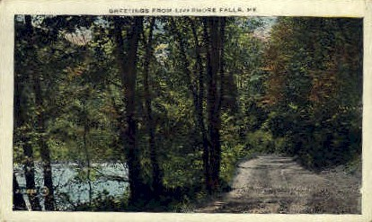Greetings From - Livermore Falls, Maine ME Postcard