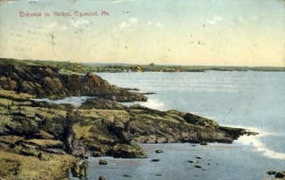 Entrance to Harbor - Ogunquit, Maine ME Postcard