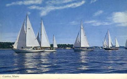 Castine Racers - Maine ME Postcard
