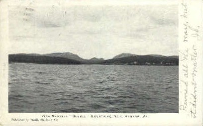Bubble Mountains - Seal Harbor, Maine ME Postcard