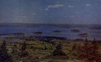 Porcupine Island - Mt. Desert Island, Maine ME Postcard