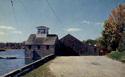 The Olde Grist Mill - Kennebunkport, Maine ME Postcard