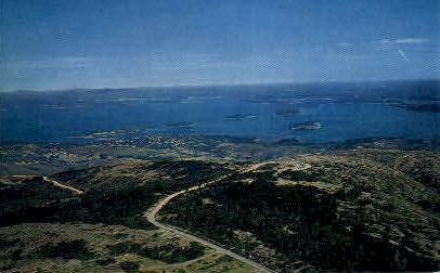 Mt. Cadillac  - Mt. Desert Island, Maine ME Postcard