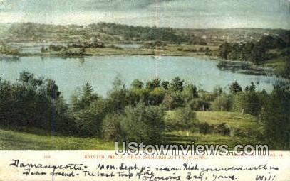 Bristol Mills - Damariscotta, Maine ME Postcard