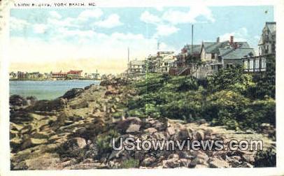 Union Bluffs - York Beach, Maine ME Postcard