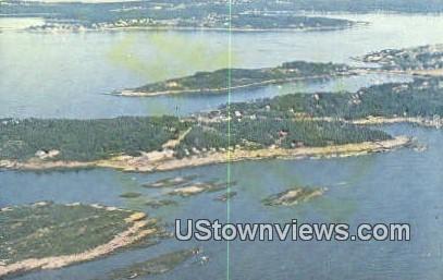 Bailey Island, ME,     ;     Bailey Island, Maine Postcard