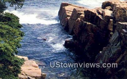 Maine Coast - Acadia National Park Postcard