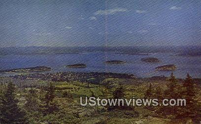 Porcupine Islands - Mt. Desert Island, Maine ME Postcard