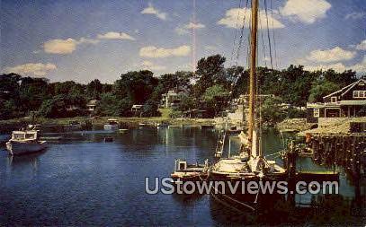 Ogunquit, Maine,     ;     Ogunquit, ME Postcard