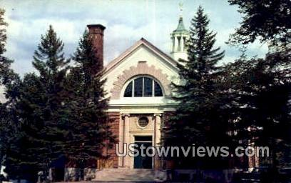 William Bingham Gym, Gould Academy - Bethel, Maine ME Postcard