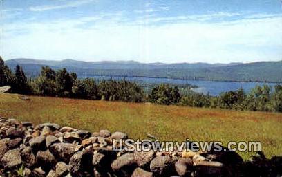 Lake Webb - Weld, Maine ME Postcard