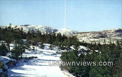 Winter - Acadia National Park, Maine ME Postcard