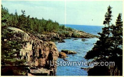 Shoodic Point - Acadia National Park, Maine ME Postcard