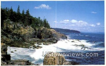 Ocean Drive - Acadia National Park, Maine ME Postcard