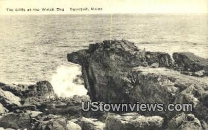 The Cliffs - Ogunquit, Maine ME Postcard