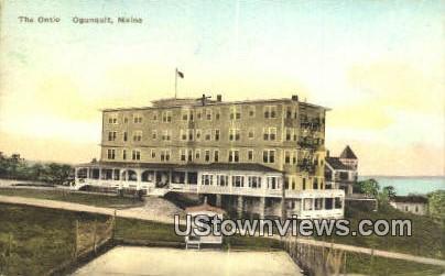 The Ontio - Ogunquit, Maine ME Postcard