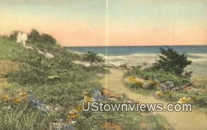 Marginal Way - Ogunquit, Maine ME Postcard