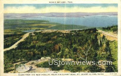 New Cadillac Mt - Mt. Desert Island, Maine ME Postcard