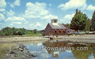 Grist Mill - Kennebunkport, Maine ME Postcard