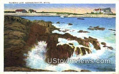 Blowing Cave - Kennebunkport, Maine ME Postcard