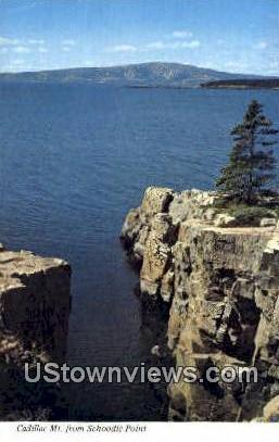 Cadillac Mt. - Acadia National Park, Maine ME Postcard