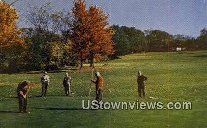 Bethel Inn Golf Course - Maine ME Postcard