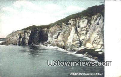 The Grotto - Orrs Island, Maine ME Postcard