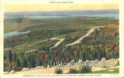 Cadillac Mountain Rd - Acadia National Park, Maine ME Postcard