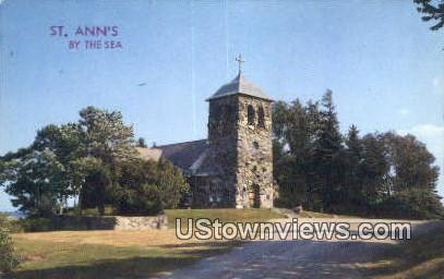 St Ann's by the sea - Kennebunkport, Maine ME Postcard