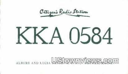 Citizens Radio Station - Bethel, Maine ME Postcard