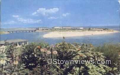 Ogunquit River, Beach - Maine ME Postcard