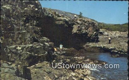 Anemone Caves, Acadia National Park - Mt. Desert Island, Maine ME Postcard