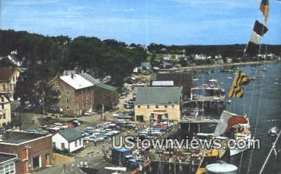 Water Front - Castine, Maine ME Postcard