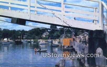 Perkins Cove - Ogunquit, Maine ME Postcard