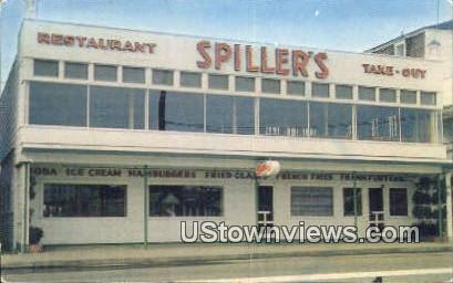 Spiller's Restaurant - York Beach, Maine ME Postcard