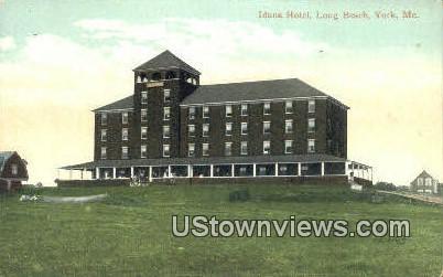 Iduna Hotel, Long Beach - York, Maine ME Postcard