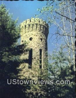 Casco Castle Tower - Freeport, Maine ME Postcard