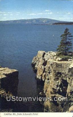 Cadillac Mt - Acadia National Park, Maine ME Postcard