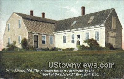Pearl of Orr's Island Story 1756 - Orrs Island, Maine ME Postcard